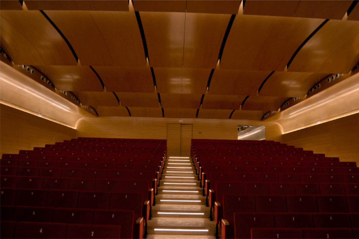 Elegante auditorio
